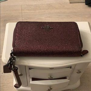 Bling bling  Coach wallet